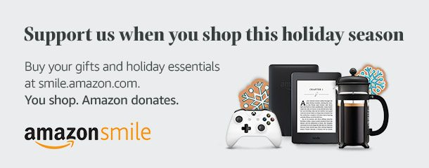 Holiday Amazon Smiles Banner