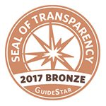 Seal of Transparency from GuideStar for Metaplastic Breast Cancer Global Alliance