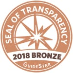 Seal of Transparency from GuideStar for Metaplastic Breast Cancer Global Alliance 2018