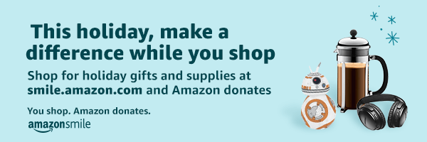 Amazon Smiles Holiday Banner